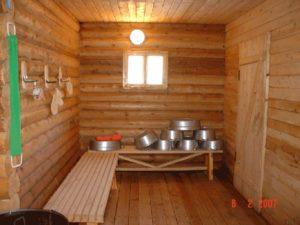 Большая баня с фитобочкой